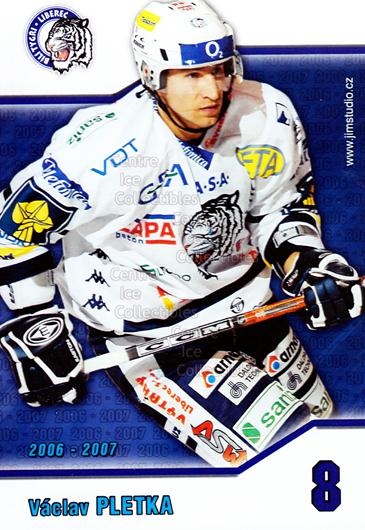 2006-07 Czech Bili Tygri Liberec Postcards #7 Vaclav Pletka<br/>1 In Stock - $3.00 each - <a href=https://centericecollectibles.foxycart.com/cart?name=2006-07%20Czech%20Bili%20Tygri%20Liberec%20Postcards%20%237%20Vaclav%20Pletka...&price=$3.00&code=603878 class=foxycart> Buy it now! </a>