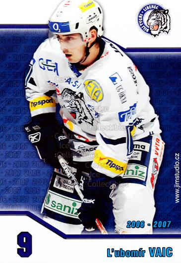 2006-07 Czech Bili Tygri Liberec Postcards #10 Lubomir Vaic<br/>1 In Stock - $3.00 each - <a href=https://centericecollectibles.foxycart.com/cart?name=2006-07%20Czech%20Bili%20Tygri%20Liberec%20Postcards%20%2310%20Lubomir%20Vaic...&price=$3.00&code=603879 class=foxycart> Buy it now! </a>