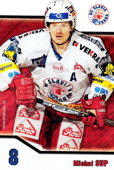 2006-07 Czech HC Slavia Praha Postcards #13 Michal Sup<br/>1 In Stock - $3.00 each - <a href=https://centericecollectibles.foxycart.com/cart?name=2006-07%20Czech%20HC%20Slavia%20Praha%20Postcards%20%2313%20Michal%20Sup...&price=$3.00&code=603896 class=foxycart> Buy it now! </a>