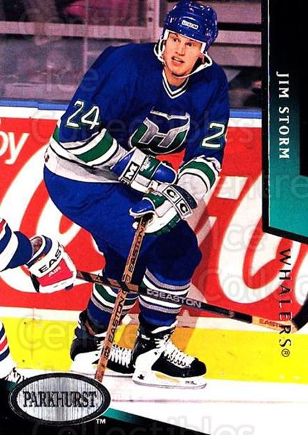1993-94 Parkhurst #354 Jim Storm<br/>6 In Stock - $1.00 each - <a href=https://centericecollectibles.foxycart.com/cart?name=1993-94%20Parkhurst%20%23354%20Jim%20Storm...&quantity_max=6&price=$1.00&code=6040 class=foxycart> Buy it now! </a>