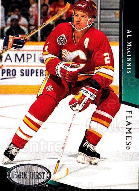 1993-94 Parkhurst #36 Al MacInnis<br/>3 In Stock - $1.00 each - <a href=https://centericecollectibles.foxycart.com/cart?name=1993-94%20Parkhurst%20%2336%20Al%20MacInnis...&quantity_max=3&price=$1.00&code=6042 class=foxycart> Buy it now! </a>