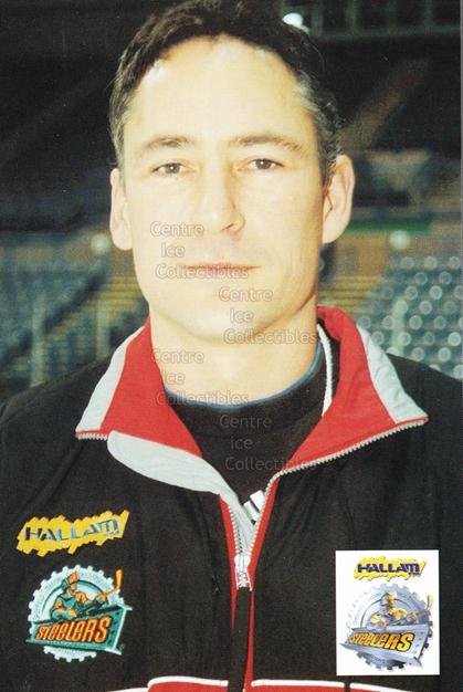 1999-00 UK British Elite Sheffield Steelers Postcards #1 Mike Blaisdell<br/>1 In Stock - $3.00 each - <a href=https://centericecollectibles.foxycart.com/cart?name=1999-00%20UK%20British%20Elite%20Sheffield%20Steelers%20Postcards%20%231%20Mike%20Blaisdell...&quantity_max=1&price=$3.00&code=604427 class=foxycart> Buy it now! </a>