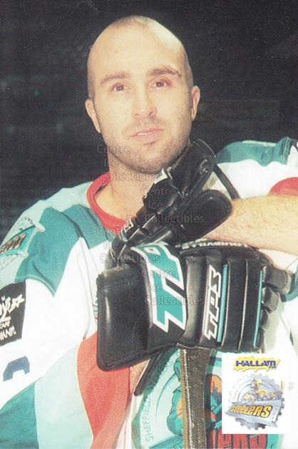 1999-00 UK British Elite Sheffield Steelers Postcards #6 Matt Hoffman<br/>1 In Stock - $3.00 each - <a href=https://centericecollectibles.foxycart.com/cart?name=1999-00%20UK%20British%20Elite%20Sheffield%20Steelers%20Postcards%20%236%20Matt%20Hoffman...&quantity_max=1&price=$3.00&code=604432 class=foxycart> Buy it now! </a>