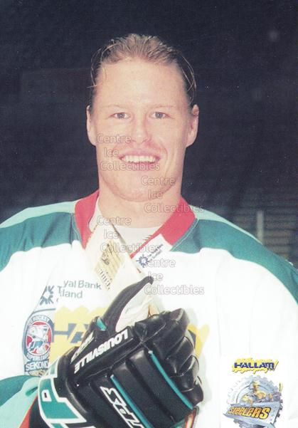 1999-00 UK British Elite Sheffield Steelers Postcards #9 David Longstaff<br/>1 In Stock - $3.00 each - <a href=https://centericecollectibles.foxycart.com/cart?name=1999-00%20UK%20British%20Elite%20Sheffield%20Steelers%20Postcards%20%239%20David%20Longstaff...&quantity_max=1&price=$3.00&code=604435 class=foxycart> Buy it now! </a>