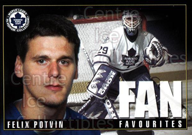 2002-03 Toronto Maple Leafs Platinum #34 Felix Potvin<br/>1 In Stock - $3.00 each - <a href=https://centericecollectibles.foxycart.com/cart?name=2002-03%20Toronto%20Maple%20Leafs%20Platinum%20%2334%20Felix%20Potvin...&quantity_max=1&price=$3.00&code=604482 class=foxycart> Buy it now! </a>