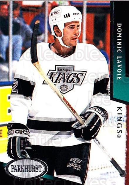1993-94 Parkhurst #366 Dominic Lavoie<br/>5 In Stock - $1.00 each - <a href=https://centericecollectibles.foxycart.com/cart?name=1993-94%20Parkhurst%20%23366%20Dominic%20Lavoie...&quantity_max=5&price=$1.00&code=6045 class=foxycart> Buy it now! </a>