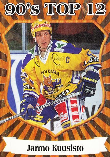 1998-99 Finnish Cardset 90s Top 12 #8 Jarmo Kuusisto<br/>4 In Stock - $3.00 each - <a href=https://centericecollectibles.foxycart.com/cart?name=1998-99%20Finnish%20Cardset%2090s%20Top%2012%20%238%20Jarmo%20Kuusisto...&quantity_max=4&price=$3.00&code=604651 class=foxycart> Buy it now! </a>
