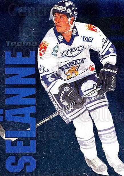 1998-99 Finnish Cardset Dream Team #7 Teemu Selanne<br/>2 In Stock - $5.00 each - <a href=https://centericecollectibles.foxycart.com/cart?name=1998-99%20Finnish%20Cardset%20Dream%20Team%20%237%20Teemu%20Selanne...&quantity_max=2&price=$5.00&code=604653 class=foxycart> Buy it now! </a>