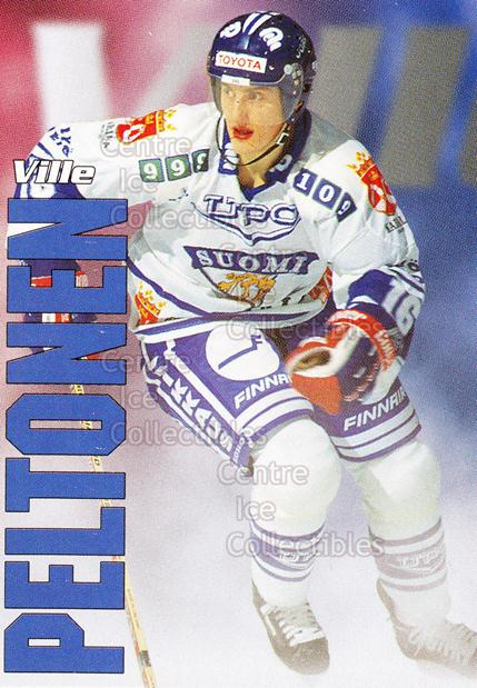 1998-99 Finnish Cardset Leijonat #36 Ville Peltonen<br/>3 In Stock - $3.00 each - <a href=https://centericecollectibles.foxycart.com/cart?name=1998-99%20Finnish%20Cardset%20Leijonat%20%2336%20Ville%20Peltonen...&quantity_max=3&price=$3.00&code=604654 class=foxycart> Buy it now! </a>