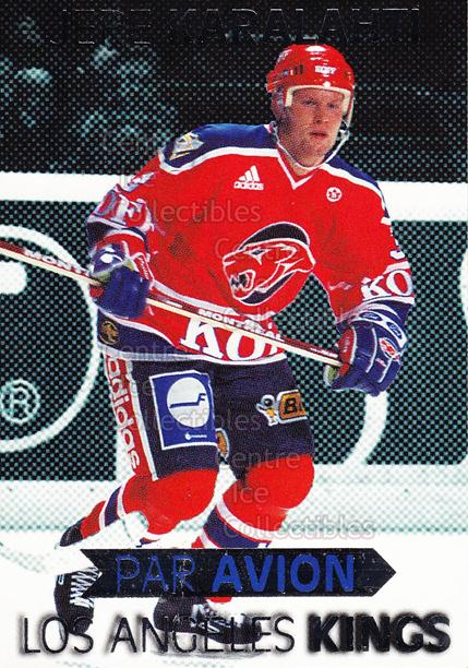 1999-00 Finnish Cardset Par Avion #4 Jere Karalahti<br/>4 In Stock - $3.00 each - <a href=https://centericecollectibles.foxycart.com/cart?name=1999-00%20Finnish%20Cardset%20Par%20Avion%20%234%20Jere%20Karalahti...&quantity_max=4&price=$3.00&code=604667 class=foxycart> Buy it now! </a>