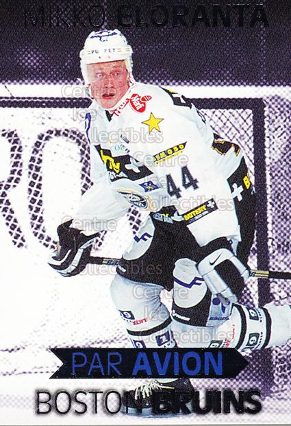 1999-00 Finnish Cardset Par Avion #11 Mikko Eloranta<br/>6 In Stock - $3.00 each - <a href=https://centericecollectibles.foxycart.com/cart?name=1999-00%20Finnish%20Cardset%20Par%20Avion%20%2311%20Mikko%20Eloranta...&quantity_max=6&price=$3.00&code=604670 class=foxycart> Buy it now! </a>