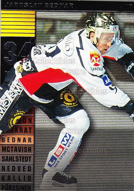 2000-01 Finnish Cardset Master Blasters #4 Jaroslav Bednar<br/>4 In Stock - $3.00 each - <a href=https://centericecollectibles.foxycart.com/cart?name=2000-01%20Finnish%20Cardset%20Master%20Blasters%20%234%20Jaroslav%20Bednar...&quantity_max=4&price=$3.00&code=604676 class=foxycart> Buy it now! </a>