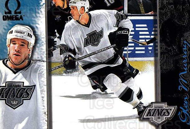 1997-98 Omega Dark Grey #110 Glen Murray<br/>4 In Stock - $2.00 each - <a href=https://centericecollectibles.foxycart.com/cart?name=1997-98%20Omega%20Dark%20Grey%20%23110%20Glen%20Murray...&quantity_max=4&price=$2.00&code=60469 class=foxycart> Buy it now! </a>