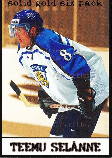 2002-03 Finnish Cardset Solid Gold #6 Teemu Selanne<br/>1 In Stock - $3.00 each - <a href=https://centericecollectibles.foxycart.com/cart?name=2002-03%20Finnish%20Cardset%20Solid%20Gold%20%236%20Teemu%20Selanne...&quantity_max=1&price=$3.00&code=604708 class=foxycart> Buy it now! </a>