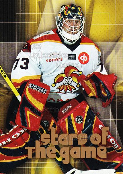 2004-05 Finnish Cardset Stars of the Game #13 Tim Thomas<br/>2 In Stock - $5.00 each - <a href=https://centericecollectibles.foxycart.com/cart?name=2004-05%20Finnish%20Cardset%20Stars%20of%20the%20Game%20%2313%20Tim%20Thomas...&price=$5.00&code=604729 class=foxycart> Buy it now! </a>