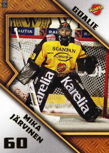 2008-09 Finnish Cardset Goalie Tandems #7 Mika Jarvinen, Mika Oksa<br/>5 In Stock - $3.00 each - <a href=https://centericecollectibles.foxycart.com/cart?name=2008-09%20Finnish%20Cardset%20Goalie%20Tandems%20%237%20Mika%20Jarvinen,%20...&quantity_max=5&price=$3.00&code=604821 class=foxycart> Buy it now! </a>