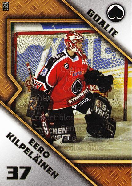 2008-09 Finnish Cardset Goalie Tandems #14 Eero Kilpelainen, Tomas Duba<br/>1 In Stock - $3.00 each - <a href=https://centericecollectibles.foxycart.com/cart?name=2008-09%20Finnish%20Cardset%20Goalie%20Tandems%20%2314%20Eero%20Kilpelaine...&quantity_max=1&price=$3.00&code=604828 class=foxycart> Buy it now! </a>