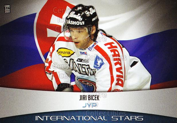 2008-09 Finnish Cardset International Stars #3 Jiri Bicek<br/>5 In Stock - $3.00 each - <a href=https://centericecollectibles.foxycart.com/cart?name=2008-09%20Finnish%20Cardset%20International%20Stars%20%233%20Jiri%20Bicek...&quantity_max=5&price=$3.00&code=604831 class=foxycart> Buy it now! </a>