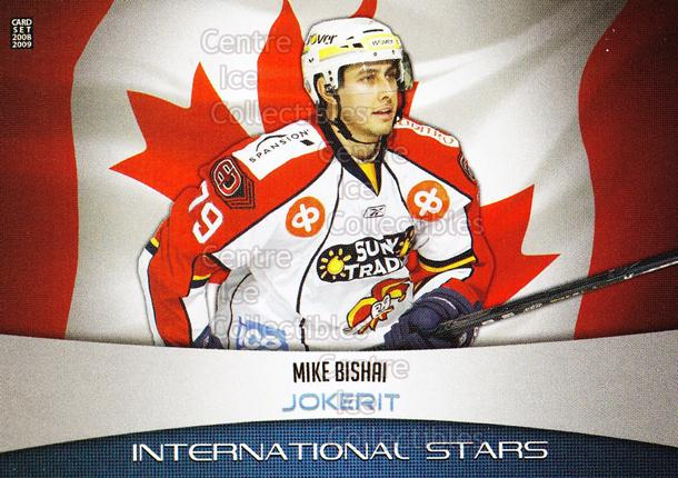 2008-09 Finnish Cardset International Stars #4 Mike Bishai<br/>4 In Stock - $3.00 each - <a href=https://centericecollectibles.foxycart.com/cart?name=2008-09%20Finnish%20Cardset%20International%20Stars%20%234%20Mike%20Bishai...&price=$3.00&code=604832 class=foxycart> Buy it now! </a>