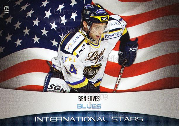 2008-09 Finnish Cardset International Stars #11 Ben Eaves<br/>4 In Stock - $3.00 each - <a href=https://centericecollectibles.foxycart.com/cart?name=2008-09%20Finnish%20Cardset%20International%20Stars%20%2311%20Ben%20Eaves...&quantity_max=4&price=$3.00&code=604839 class=foxycart> Buy it now! </a>