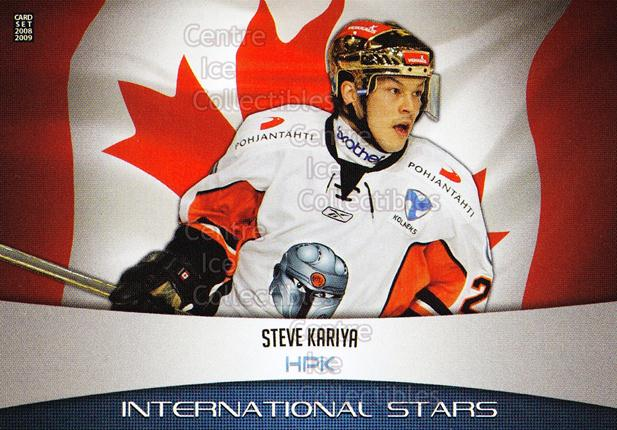 2008-09 Finnish Cardset International Stars #15 Steve Kariya<br/>4 In Stock - $3.00 each - <a href=https://centericecollectibles.foxycart.com/cart?name=2008-09%20Finnish%20Cardset%20International%20Stars%20%2315%20Steve%20Kariya...&quantity_max=4&price=$3.00&code=604843 class=foxycart> Buy it now! </a>