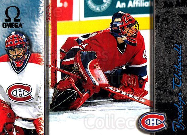 1997-98 Omega Dark Grey #124 Jocelyn Thibault<br/>3 In Stock - $2.00 each - <a href=https://centericecollectibles.foxycart.com/cart?name=1997-98%20Omega%20Dark%20Grey%20%23124%20Jocelyn%20Thibaul...&quantity_max=3&price=$2.00&code=60484 class=foxycart> Buy it now! </a>