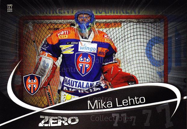 2008-09 Finnish Cardset Zero #1 Mika Lehto<br/>9 In Stock - $3.00 each - <a href=https://centericecollectibles.foxycart.com/cart?name=2008-09%20Finnish%20Cardset%20Zero%20%231%20Mika%20Lehto...&quantity_max=9&price=$3.00&code=604864 class=foxycart> Buy it now! </a>