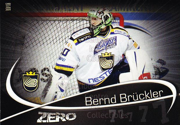 2008-09 Finnish Cardset Zero #2 Bernd Bruckler<br/>9 In Stock - $3.00 each - <a href=https://centericecollectibles.foxycart.com/cart?name=2008-09%20Finnish%20Cardset%20Zero%20%232%20Bernd%20Bruckler...&quantity_max=9&price=$3.00&code=604865 class=foxycart> Buy it now! </a>