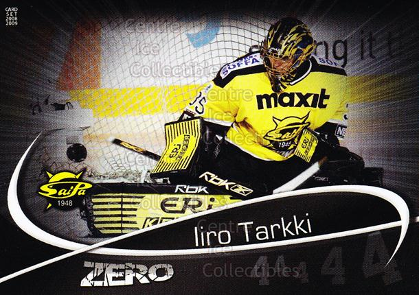 2008-09 Finnish Cardset Zero #4 Iiro Tarkki<br/>8 In Stock - $3.00 each - <a href=https://centericecollectibles.foxycart.com/cart?name=2008-09%20Finnish%20Cardset%20Zero%20%234%20Iiro%20Tarkki...&quantity_max=8&price=$3.00&code=604867 class=foxycart> Buy it now! </a>