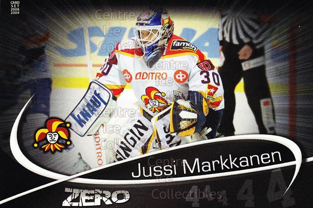 2008-09 Finnish Cardset Zero #7 Jussi Markkanen<br/>6 In Stock - $3.00 each - <a href=https://centericecollectibles.foxycart.com/cart?name=2008-09%20Finnish%20Cardset%20Zero%20%237%20Jussi%20Markkanen...&quantity_max=6&price=$3.00&code=604870 class=foxycart> Buy it now! </a>