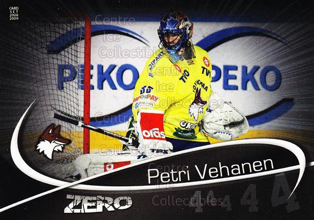 2008-09 Finnish Cardset Zero #8 Petri Vehanen<br/>3 In Stock - $3.00 each - <a href=https://centericecollectibles.foxycart.com/cart?name=2008-09%20Finnish%20Cardset%20Zero%20%238%20Petri%20Vehanen...&quantity_max=3&price=$3.00&code=604871 class=foxycart> Buy it now! </a>