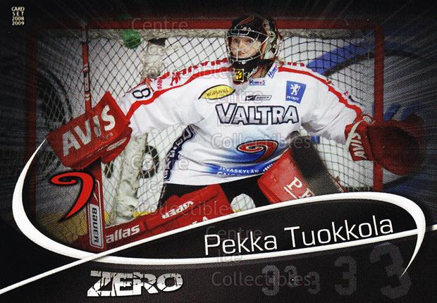2008-09 Finnish Cardset Zero #9 Pekka Tuokkola<br/>7 In Stock - $3.00 each - <a href=https://centericecollectibles.foxycart.com/cart?name=2008-09%20Finnish%20Cardset%20Zero%20%239%20Pekka%20Tuokkola...&quantity_max=7&price=$3.00&code=604872 class=foxycart> Buy it now! </a>