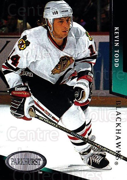 1993-94 Parkhurst #37 Kevin Todd<br/>4 In Stock - $1.00 each - <a href=https://centericecollectibles.foxycart.com/cart?name=1993-94%20Parkhurst%20%2337%20Kevin%20Todd...&quantity_max=4&price=$1.00&code=6048 class=foxycart> Buy it now! </a>