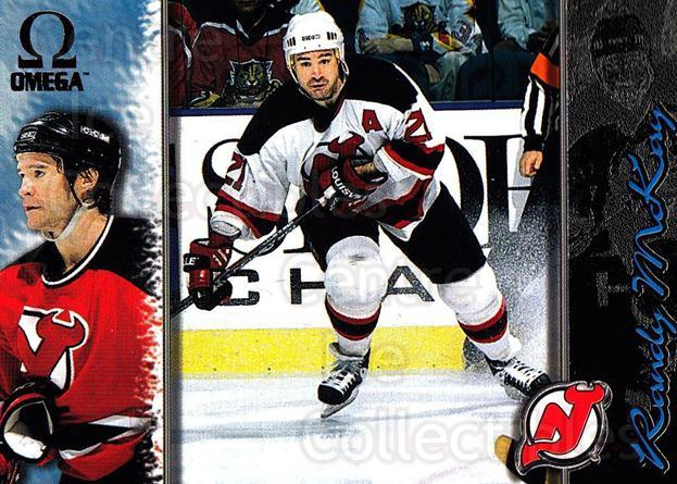 1997-98 Omega Dark Grey #131 Randy McKay<br/>4 In Stock - $2.00 each - <a href=https://centericecollectibles.foxycart.com/cart?name=1997-98%20Omega%20Dark%20Grey%20%23131%20Randy%20McKay...&quantity_max=4&price=$2.00&code=60491 class=foxycart> Buy it now! </a>