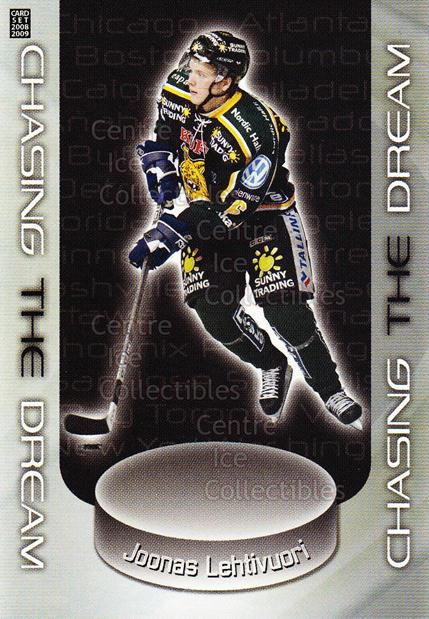 2008-09 Finnish Cardset Chasing The Dream Silver #4 Joonas Lehtivuori<br/>1 In Stock - $5.00 each - <a href=https://centericecollectibles.foxycart.com/cart?name=2008-09%20Finnish%20Cardset%20Chasing%20The%20Dream%20Silver%20%234%20Joonas%20Lehtivuo...&quantity_max=1&price=$5.00&code=604939 class=foxycart> Buy it now! </a>