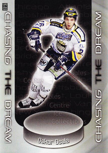 2008-09 Finnish Cardset Chasing The Dream Silver #6 Oskar Osala<br/>1 In Stock - $5.00 each - <a href=https://centericecollectibles.foxycart.com/cart?name=2008-09%20Finnish%20Cardset%20Chasing%20The%20Dream%20Silver%20%236%20Oskar%20Osala...&quantity_max=1&price=$5.00&code=604941 class=foxycart> Buy it now! </a>