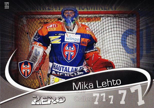 2008-09 Finnish Cardset Zero Silver #1 Mika Lehto<br/>1 In Stock - $5.00 each - <a href=https://centericecollectibles.foxycart.com/cart?name=2008-09%20Finnish%20Cardset%20Zero%20Silver%20%231%20Mika%20Lehto...&quantity_max=1&price=$5.00&code=604945 class=foxycart> Buy it now! </a>
