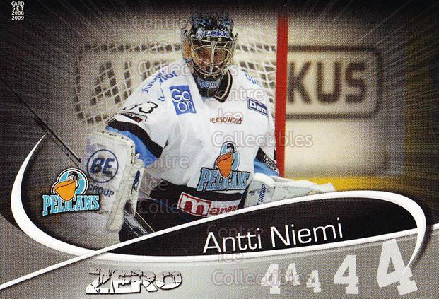 2008-09 Finnish Cardset Zero Silver #6 Antti Niemi<br/>1 In Stock - $5.00 each - <a href=https://centericecollectibles.foxycart.com/cart?name=2008-09%20Finnish%20Cardset%20Zero%20Silver%20%236%20Antti%20Niemi...&quantity_max=1&price=$5.00&code=604950 class=foxycart> Buy it now! </a>