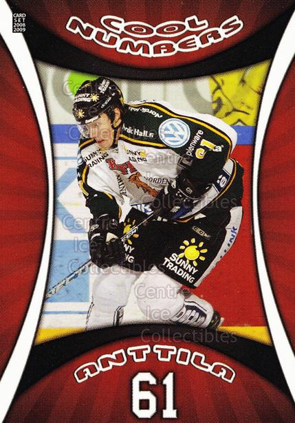 2008-09 Finnish Cardset Cool Numbers Red #14 Marko Anttila<br/>1 In Stock - $5.00 each - <a href=https://centericecollectibles.foxycart.com/cart?name=2008-09%20Finnish%20Cardset%20Cool%20Numbers%20Red%20%2314%20Marko%20Anttila...&quantity_max=1&price=$5.00&code=604993 class=foxycart> Buy it now! </a>