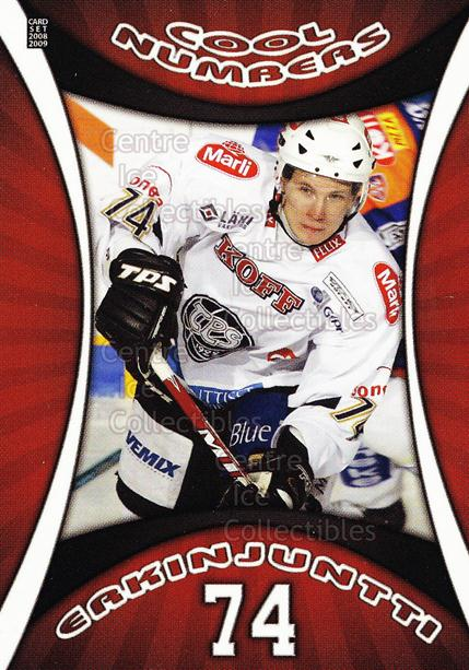 2008-09 Finnish Cardset Cool Numbers Red #16 Antti Erkinjuntti<br/>1 In Stock - $5.00 each - <a href=https://centericecollectibles.foxycart.com/cart?name=2008-09%20Finnish%20Cardset%20Cool%20Numbers%20Red%20%2316%20Antti%20Erkinjunt...&quantity_max=1&price=$5.00&code=604995 class=foxycart> Buy it now! </a>