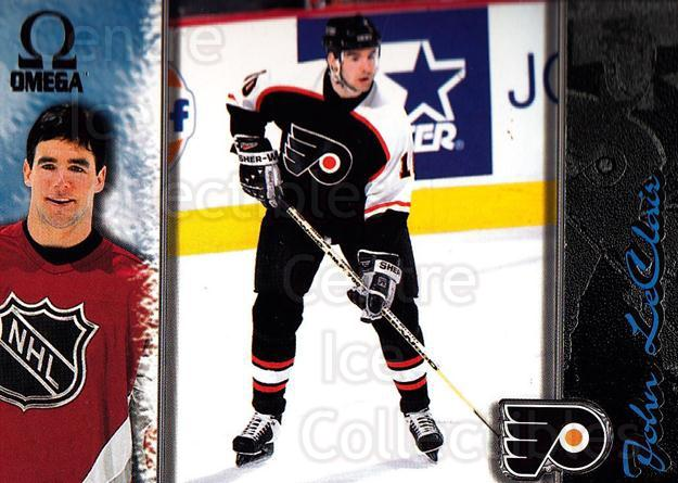 1997-98 Omega Dark Grey #167 John LeClair<br/>3 In Stock - $2.00 each - <a href=https://centericecollectibles.foxycart.com/cart?name=1997-98%20Omega%20Dark%20Grey%20%23167%20John%20LeClair...&quantity_max=3&price=$2.00&code=60526 class=foxycart> Buy it now! </a>