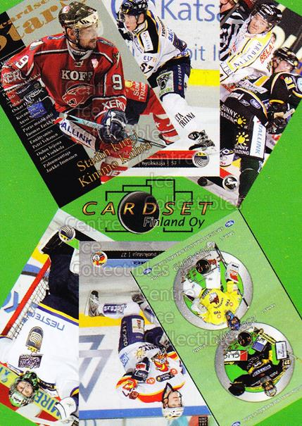 2008-09 Finnish Cardset Promo Sample #2 Header Card<br/>20 In Stock - $3.00 each - <a href=https://centericecollectibles.foxycart.com/cart?name=2008-09%20Finnish%20Cardset%20Promo%20Sample%20%232%20Header%20Card...&price=$3.00&code=605348 class=foxycart> Buy it now! </a>