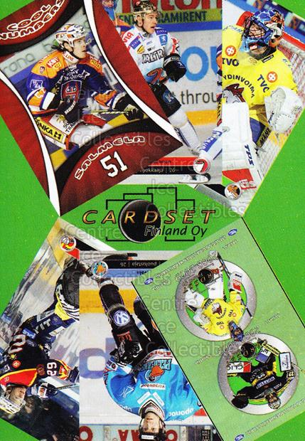 2008-09 Finnish Cardset Promo Sample #3 Header Card<br/>20 In Stock - $3.00 each - <a href=https://centericecollectibles.foxycart.com/cart?name=2008-09%20Finnish%20Cardset%20Promo%20Sample%20%233%20Header%20Card...&price=$3.00&code=605349 class=foxycart> Buy it now! </a>