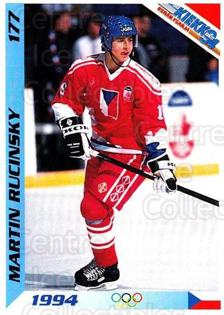 1994 Finnish Jaa Kiekko #177 Martin Rucinsky<br/>1 In Stock - $2.00 each - <a href=https://centericecollectibles.foxycart.com/cart?name=1994%20Finnish%20Jaa%20Kiekko%20%23177%20Martin%20Rucinsky...&quantity_max=1&price=$2.00&code=605396 class=foxycart> Buy it now! </a>