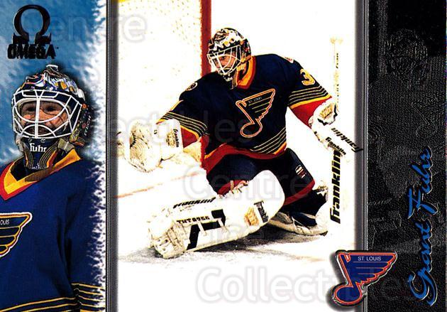 1997-98 Omega Dark Grey #193 Grant Fuhr<br/>3 In Stock - $2.00 each - <a href=https://centericecollectibles.foxycart.com/cart?name=1997-98%20Omega%20Dark%20Grey%20%23193%20Grant%20Fuhr...&quantity_max=3&price=$2.00&code=60554 class=foxycart> Buy it now! </a>