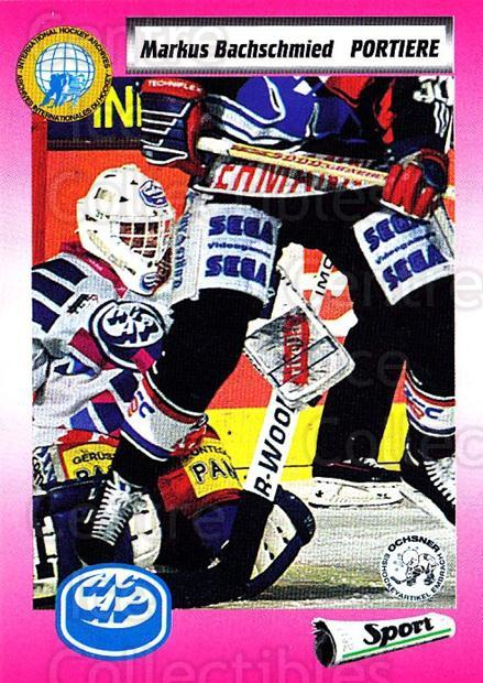 1993-94 Swiss HNL #136 Markus Bachschmied<br/>2 In Stock - $2.00 each - <a href=https://centericecollectibles.foxycart.com/cart?name=1993-94%20Swiss%20HNL%20%23136%20Markus%20Bachschm...&quantity_max=2&price=$2.00&code=605730 class=foxycart> Buy it now! </a>