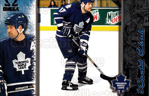 1997-98 Omega Dark Grey #218 Wendel Clark<br/>3 In Stock - $2.00 each - <a href=https://centericecollectibles.foxycart.com/cart?name=1997-98%20Omega%20Dark%20Grey%20%23218%20Wendel%20Clark...&quantity_max=3&price=$2.00&code=60581 class=foxycart> Buy it now! </a>