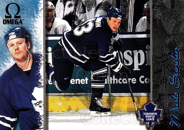 1997-98 Omega Dark Grey #225 Mats Sundin<br/>3 In Stock - $2.00 each - <a href=https://centericecollectibles.foxycart.com/cart?name=1997-98%20Omega%20Dark%20Grey%20%23225%20Mats%20Sundin...&quantity_max=3&price=$2.00&code=60589 class=foxycart> Buy it now! </a>