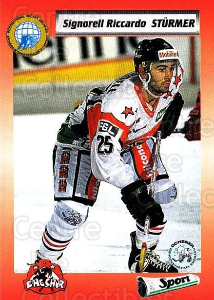 1993-94 Swiss HNL #310 Riccardo Signorell<br/>5 In Stock - $2.00 each - <a href=https://centericecollectibles.foxycart.com/cart?name=1993-94%20Swiss%20HNL%20%23310%20Riccardo%20Signor...&price=$2.00&code=605904 class=foxycart> Buy it now! </a>