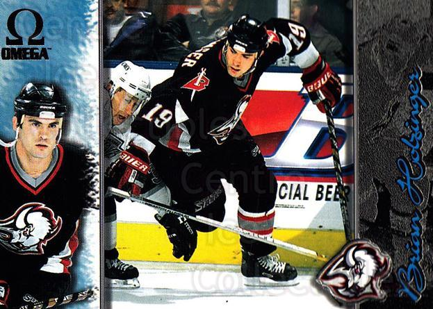 1997-98 Omega Dark Grey #23 Brian Holzinger<br/>5 In Stock - $2.00 each - <a href=https://centericecollectibles.foxycart.com/cart?name=1997-98%20Omega%20Dark%20Grey%20%2323%20Brian%20Holzinger...&quantity_max=5&price=$2.00&code=60593 class=foxycart> Buy it now! </a>